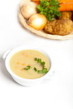 Potato Soup Royalty Free Stock Photo