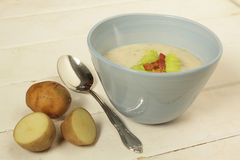 Potato soup Stock Image