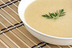 Potato soup Royalty Free Stock Image