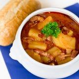 Potato soup Stock Photos