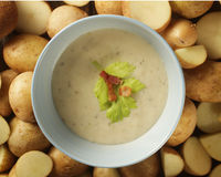 Potato soup Royalty Free Stock Photography