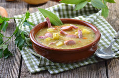 Potato soup Stock Images