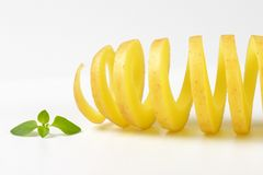 Potato spiral Royalty Free Stock Photography