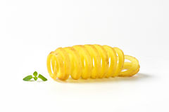 Potato spiral Royalty Free Stock Image