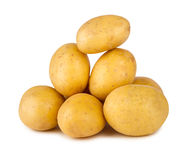 Potato stack Royalty Free Stock Image