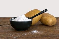 Potato starch for baking, thickener, cakes etc. Gluten free. Stock Image
