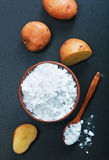 Potato starch Stock Images