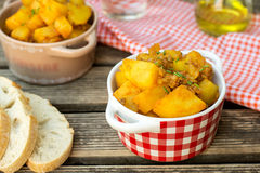 Potato stew with minced beef Royalty Free Stock Image