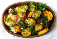 Potato stew Royalty Free Stock Image