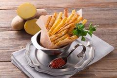 Potato Sticks Stock Images