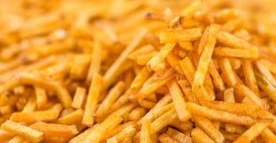 Potato Sticks background image Stock Image