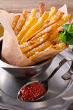 Potato sticks Stock Images