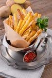 Potato sticks Stock Photo