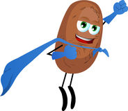 Potato superhero Stock Photos