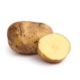 Potato on the table Royalty Free Stock Image