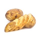 Potato on the table Stock Images