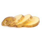 Potato on the table Stock Photo