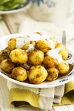Potato and tamarind salad Royalty Free Stock Photography