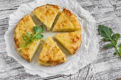 Potato tortilla Royalty Free Stock Image