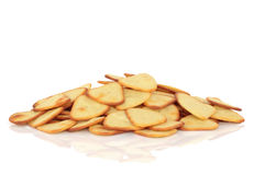 Potato Triangle Snacks Royalty Free Stock Images