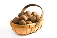Potato Trug Royalty Free Stock Images