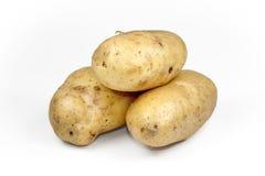 Potato tuber isolated on white background cutout. Royalty Free Stock Photo