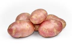 Potato tuber isolated on white background cutout. Stock Photo