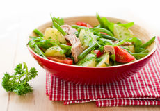 Potato and tuna salad Royalty Free Stock Photography