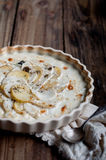 Potato Turnip Gratin Stock Photography