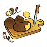 Potato vegetable Stock Images