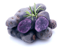 Potato Violette Royalty Free Stock Photos