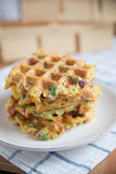 Potato Waffles Stock Photography