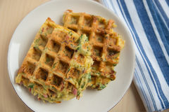 Potato Waffles Stock Image