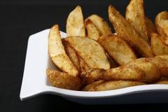 Potato wedges Royalty Free Stock Photography