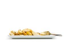 Potato wedges Royalty Free Stock Photo