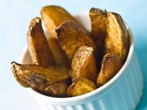 Potato wedges Stock Photo