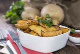 Potato Wedges Royalty Free Stock Image