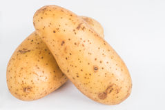 Potato on white background Royalty Free Stock Image