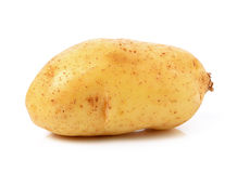 Potato on white background Stock Photos