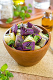 Potato and Yam salad Royalty Free Stock Photography