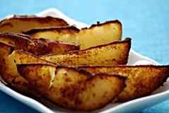 potatoe σφήνες στοκ φωτογραφίες