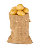 Potatoe bag Stock Photo