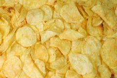 Free Potatoe Chips Background Royalty Free Stock Photography - 4485627