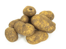 Potatoe group Royalty Free Stock Photos