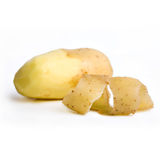 Potatoe isolated on white Stock Image