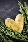 Potatoe love Royalty Free Stock Photo