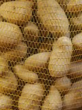 Potatoe sack Royalty Free Stock Image