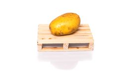 Potatoe shipment Royalty Free Stock Photos