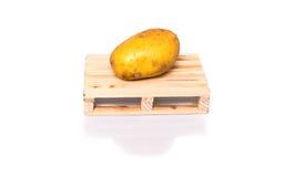 Potatoe shipment Royalty Free Stock Photos