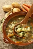 Potatoe soppa Arkivfoto